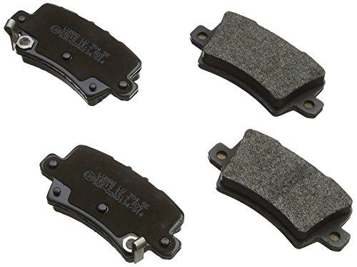 Breck 24086 00 704 10 Kit de plaquettes de frein, frein à disque