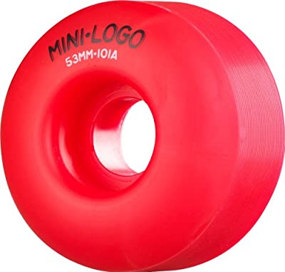 Mini-Logo Wheels C-Cut 101A, Rot, 53 mm, 132879