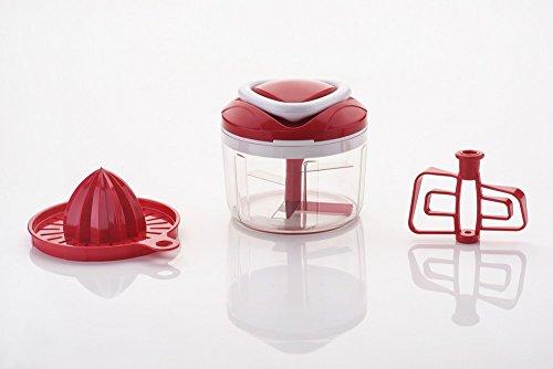Ganesh-Easy-Pull-3-in-1-Plastic-Chopper-650ml125mm-Red
