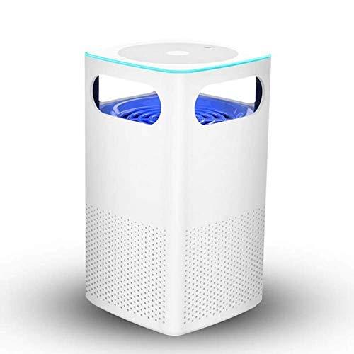HXCLYQ LEDmosquito Killer - Trampa de inhalación de fotocatalizador USB en el hogar, Silencio en el Interior, sin radiación, Dormitorio para bebés, Dormitorio, Asesino de Mosquitos