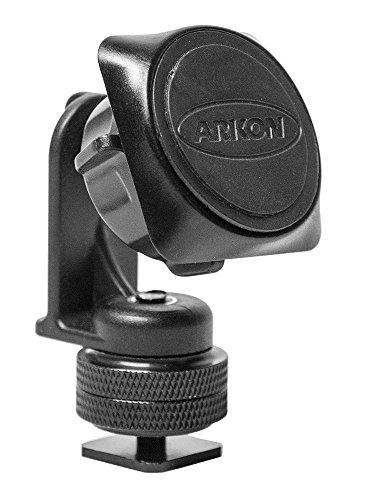 Arkon Kamera Blitzschuh Magnetische Autohalterung für iPhone 76S 6Plus 76S 65S Galaxy Note 5Retail schwarz Wireless Hot Shoe