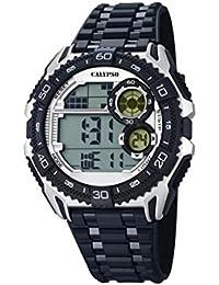 Calypso Watches K5670_1 - Reloj Digital Para Hombre, color LCD/Negro