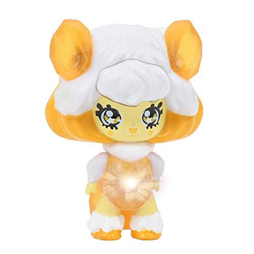 Giochi Preziosi Glimmies GLP003 Figura de Juguete para niños Blanco, Amarillo Chica - Figuras de Juguete para niños (Blanco, Amarillo, 3 año(s), Chica, China, LR41, 60 mm)