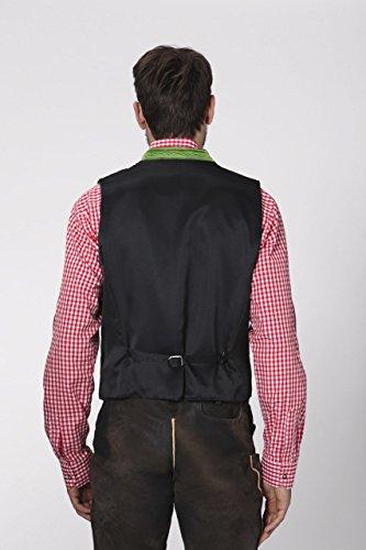 Stockerpoint - Herren Trachten Weste in verschiedenen Farbtönen, Calzado, Größe:56, Farbe:Hellgrün - 4