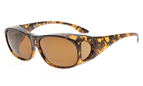Eyekepper Unisex Korrekturbrille RX Brille polarisierte Sonnenbrillen Überziehbrille Fit-Over Brille