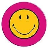 ZAK Designs 6187-0843 Smiley - Piatto da insalata, classico, colore: Fucsia