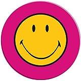 Zakdesigns 6187-0843 Smiley Plat de Salade Mélamine Rouge 20 cm