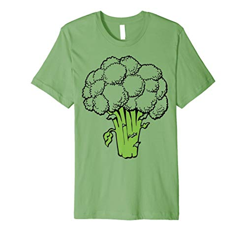 Obst Gemüse T-Shirt - Brokkoli, Broccoli und andere Früchte