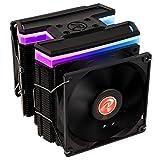 Raijintek Delos RBW Rainbow RGB LED CPU-Kühler - 3X 92mm
