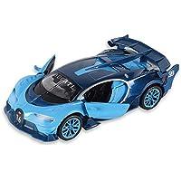Markc Regalo de cumpleaños de inducción inalámbrica muchacho del juguete de control remoto de coches de control remoto de coches de la simulación del modelo del coche de la decoración de los Niños 01: