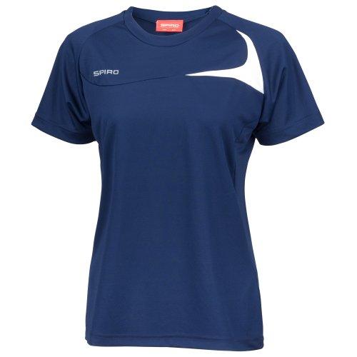 Spiro Womens/Ladies Sports Dash Performance Training T-Shirt