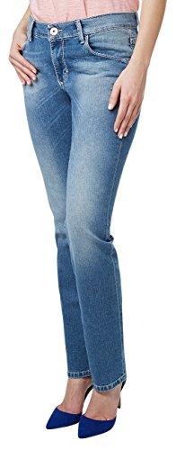 Pioneer Damen Straight Jeans Sally Blau (blue 345)