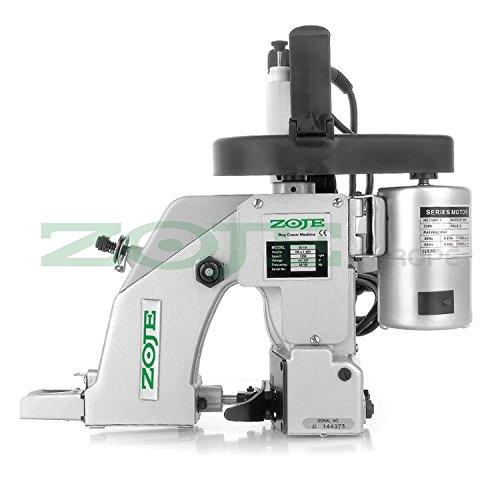 ZOJE Sacknähmaschine - Sackzunähmaschine - 1 Faden - Industrie Industrielle Maschine - Maschinen-industrielle Nähen