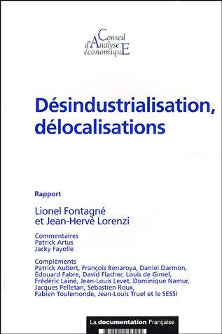 Désindustrialisation, délocalisations (Rapport du CAE n.55) par Lionel Fontagné