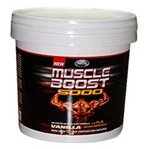 APN Muscle Boost 5000 - 11 lbs , 20 serving ,chocolate