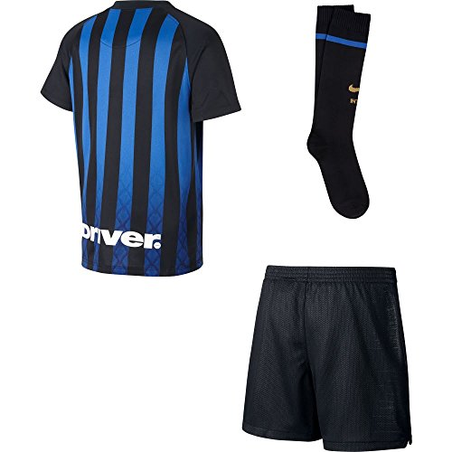 Nike Inter Home Children s Football Kit  Divided By  baby  919310-011  Nero Truly Gold  Medium