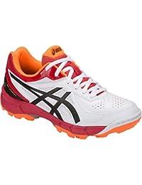 ASICS Gel - Peake 5 GS Kids Cricket Shoes White/Black