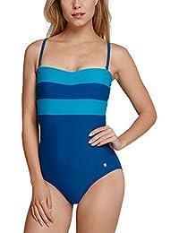Schiesser Damen Einteiler Aqua Badeanzug