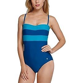 Schiesser Damen Badeanzug Einteiler Aqua