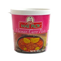 Thai Masman Curry Paste (400g By Mae Ploy)