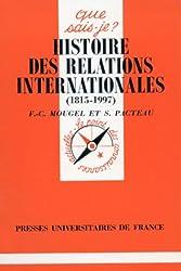 Histoire des relations internationales 1815-1993