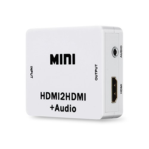 Mondpalast ® HDMI Audio Extractor - HDMI zu 2.0 Stereo - 3,5mm Klinke