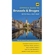 AA Citypack Brussels & Bruges (Travel Guide) (AA CityPack Guides)