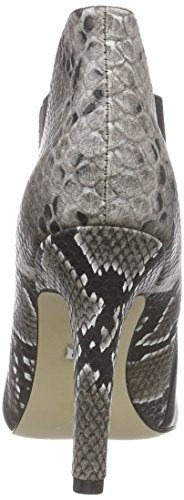 Buffalo 114-1516 Silk Lea Snake Pu, Bottes femme Multicolore - Mehrfarbig (BLACK 18)