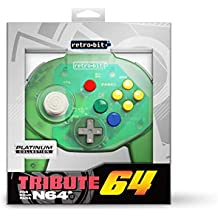Retro-Bit Tribute 64 for Nintendo 64 - Forest Green [Importación inglesa]