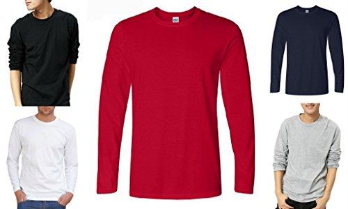 Smile YKK Herren Männer Langarmshirt Pullover Pulli Sweat Heavy Hoodies Sweatershirts T-Shirt Sweatershirt Weiß