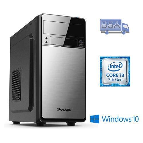 BSA PC Desktop INTEL Core i3 7350K 4.20 GHz 4 GB Windows 10 USB 3.0 Computer Fisso