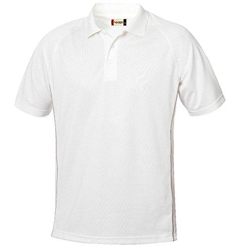 Clique - Funktions-Poloshirt 'Arizona' weiß (00)