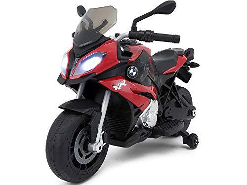 Mondial Toys Moto eléctrica Montar para Niños 12V Original BMW S1000XR roja