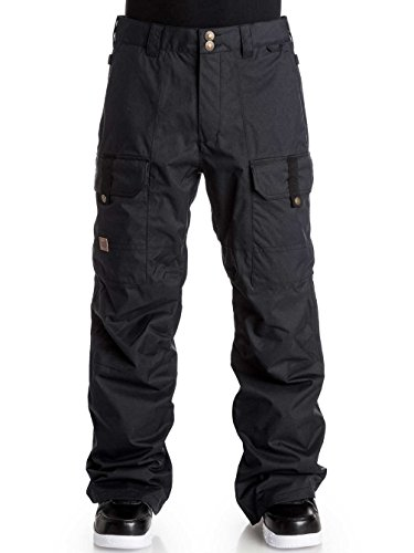 Pantaloni Snowboard Dc Code Nero (Xl , Nero)