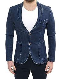 info for 8b65a 7716f Amazon.it: Giacca Jeans - Blu / Abiti e giacche / Uomo ...