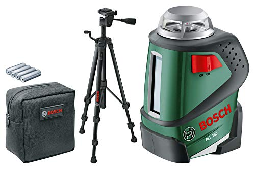 Bosch PLL 360 Cross Line Laser Featuring 360...
