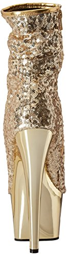 Adore-1008SQ Gold Sequins/Gold Chrome
