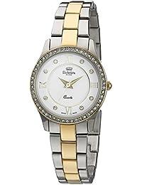 Richelieu Women's Swiss Quartz Stainless Steel Dress Watch, Color:Two Tone (Model: MRI601007917)