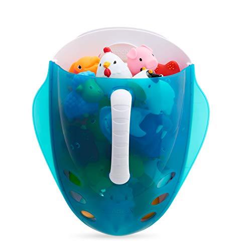 Munchkin - Badespielzeugsammler und Aufbewahrungskorb, blau (Bad Spielzeug Organizer)