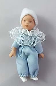 Bébé Miniature Pour Maison de Poupée 1:12 Porcelaine Personne Style Victorien