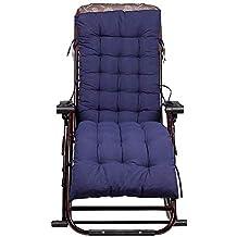 Cojín para tumbona de jardín, silla de escritorio, cojines de asiento, almohadillas reclinables