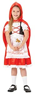 Rubie's Little Red Riding Hood Fancy Dress - Size Small 3-4 Years