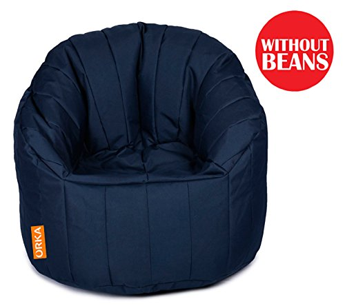 Orka XXXL Big Boss Chair Cover - Blue  available at amazon for Rs.1499