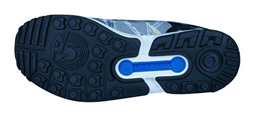 adidas ZX Flux, Scarpe Sportive, Uomo Gris / Negro