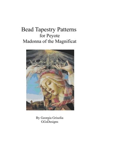 Bead Tapestry Patterns for Peyote Madonna of the Magnificat by Botticelli -