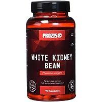 Prozis Estratto di Fagiolo Bianco White Kidney 1500mg 90 caps - Perdita di Peso e Blocca Carboidrati Naturale - 30 Dosi