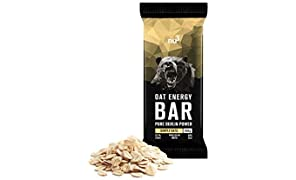 nu3 Oat Energy Bars   simply oats flavour - 15x 100g   natural flapjack bar made of fondant oatmeal   great energy supply   with 57% carbs   homemade with carefully selected ingredients