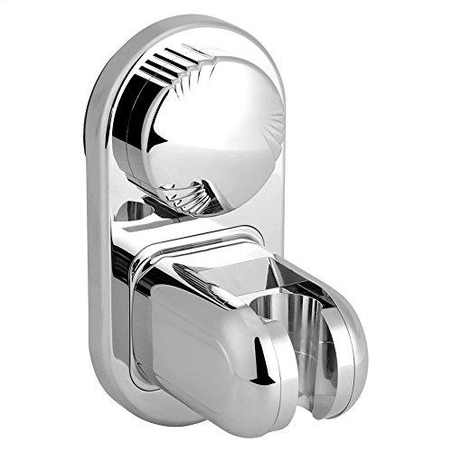 Galleria fotografica Haofy Supporto per ventosa Staffa per ventosa regolabile per doccia senza soffione a ventosa(Stainless Steel)