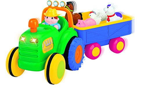 Hamleys Sing Along Tractor, Multi Color