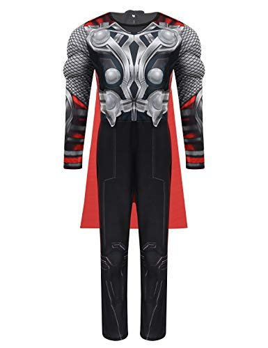 IEFIEL Disfraz Marvel Avengers Niños Disfraz Thor